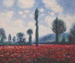field of poppies ii by claude monet paintings