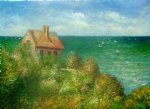 fishermans cottage at varengeville ii by claude monet paintings