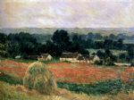 haystack at giverny by claude monet paintings