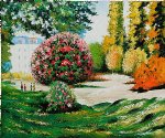 il parco monceau by claude monet paintings