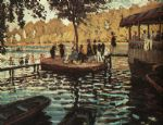 la grenouillere by claude monet paintings