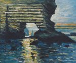 la porte d amont etretat by claude monet paintings