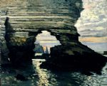 la porte d amount etretat by claude monet paintings
