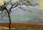 landscape artwork - landscape at giverny by claude monet
