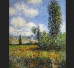 lane in the poppy fields by claude monet paintings