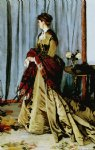 madame gaudibert by claude monet paintings