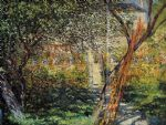 monet s garden at vetheuil by claude monet paintings