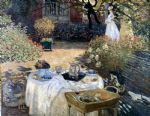 monet the luncheon by claude monet painting