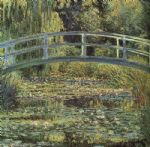 monet the waterlily pond by claude monet paintings
