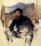 claude monet monet_self_portrait_in_his_atelier posters