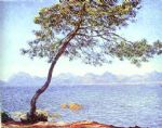 mountains at l esterel by claude monet paintings