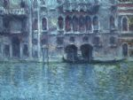 palazzo da mula at venice by claude monet paintings