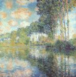 poplars on the epte by claude monet paintings
