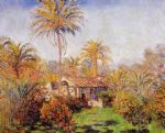 small country farm in bordighera by claude monet paintings