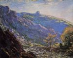 claude monet sunlight on the petit cruese painting