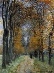 the avenue by claude monet paintings