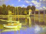 the bridge at argenteuil by claude monet paintings
