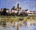 the church at vetheuil by claude monet paintings