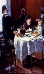 claude monet paintings - the luncheon by claude monet