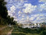 the marina at argenteuil by claude monet paintings