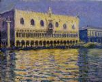 the palazzo ducale by claude monet paintings