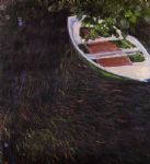the row boat by claude monet paintings