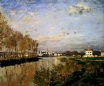 the seine at argenteuil by claude monet paintings
