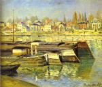 the seine at asnieres by claude monet paintings