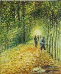 the shoot the avenue in the park montgeron by claude monet paintings