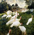 the turkeys by claude monet paintings