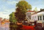 the zaan at zaandam 1 by claude monet paintings