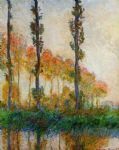 claude monet three trees in autumn posters