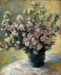 claude monet vase of flowers art