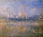 vetheuil in the fog by claude monet paintings
