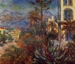 claude monet villas at bordighera 1 painting