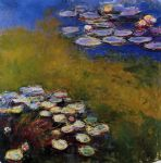 water lilies 46 by claude monet paintings
