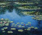 water lilies iii by claude monet paintings