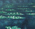water lilies vi by claude monet paintings
