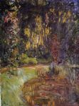 claude monet water lily pond at giverny painting