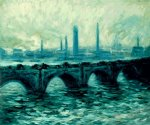 waterloo bridge ii by claude monet paintings