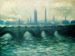 claude monet waterloo bridge iii painting