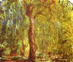weeping willow by claude monet paintings