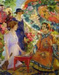 colin campbell cooper art - fortune teller by colin campbell cooper