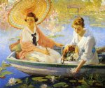 colin campbell cooper art - summer by colin campbell cooper