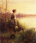 daniel ridgway knight the golden sunset painting 35871
