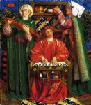 christmas famous paintings - a christmas carol by dante gabriel rossetti