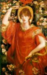 dante gabriel rossetti a vision of fiammetta paintings