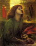 beata beatrix ii by dante gabriel rossetti prints