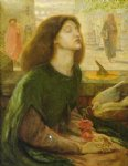 beata beatrix by dante gabriel rossetti painting