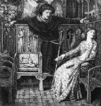 dante gabriel rossetti hamlet and ophelia painting